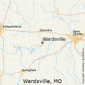 Wardsville,Missouri Map