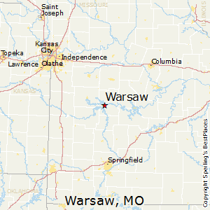 Sedalia Missouri Map.Comparison Warsaw Missouri Sedalia Missouri
