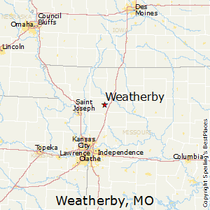 Weatherby,Missouri Map