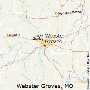 Webster_Groves,Missouri Map