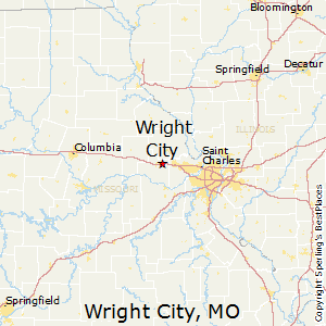 Wright_City,Missouri Map