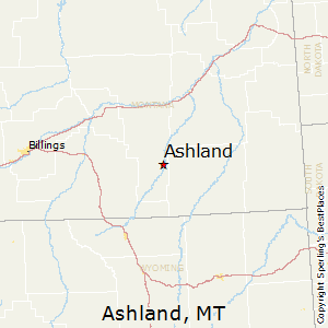 Ashland Montana Map.Best Places To Live In Ashland Montana