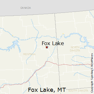 Fox_Lake,Montana Map