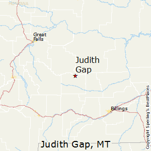 Judith_Gap,Montana Map