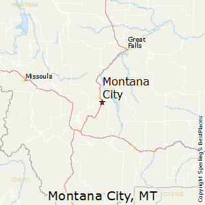 Comparison Montana City Montana Wyoming Michigan - City map of wyoming