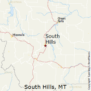 South_Hills,Montana Map