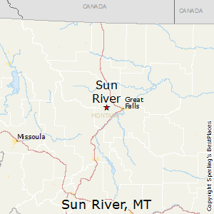 sun river montana map Best Places To Live In Sun River Montana