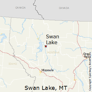 Swan Lake Montana Map.Best Places To Live In Swan Lake Montana