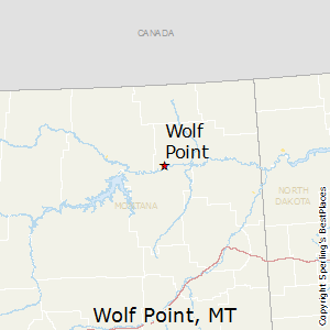 Wolf_Point,Montana Map