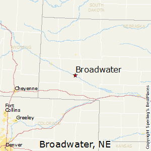 Broadwater,Nebraska Map
