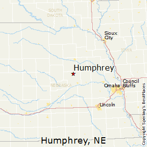 Humphrey,Nebraska Map