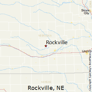 Rockville,Nebraska Map