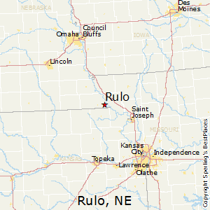 Rulo,Nebraska Map