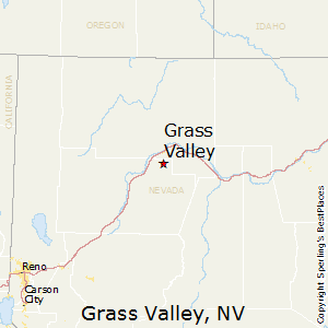 Grass_Valley,Nevada Map