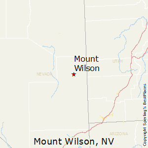 Mount_Wilson,Nevada Map