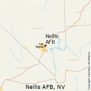 Nellis_AFB,Nevada Map