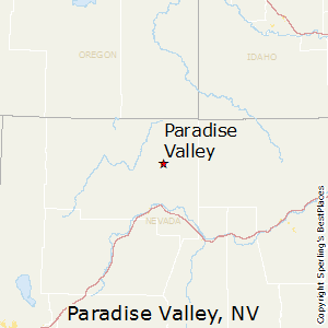 Paradise_Valley,Nevada Map