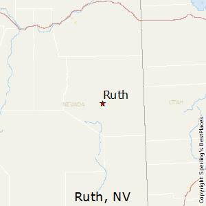 Ruth,Nevada Map