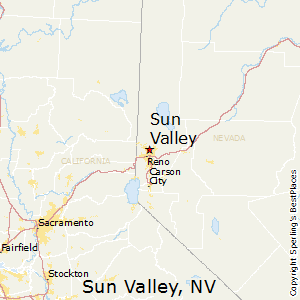 Sun_Valley,Nevada Map