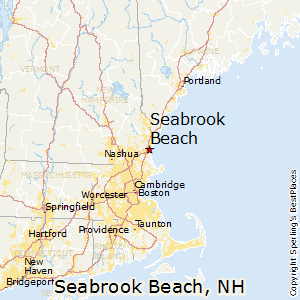 Seabrook_Beach,New Hampshire Map