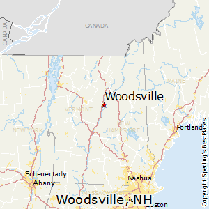 Woodsville,New Hampshire Map