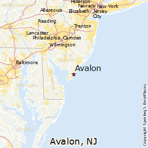 Best Places to Live in Avalon New Jersey