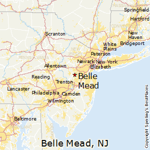 Belle_Mead,New Jersey Map