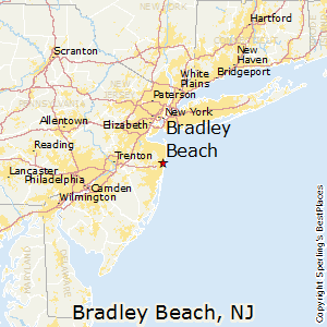 Bradley_Beach,New Jersey Map