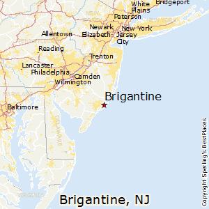 Image result for brigantine nj map