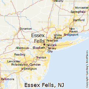 Essex_Fells,New Jersey Map