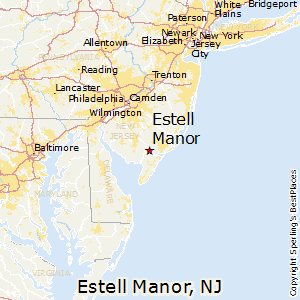 Estell_Manor,New Jersey Map