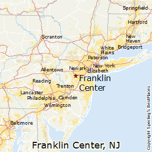 Franklin_Center,New Jersey Map