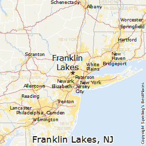 franklin lakes nj map Franklin Lakes New Jersey Religion franklin lakes nj map