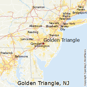 Golden_Triangle,New Jersey Map