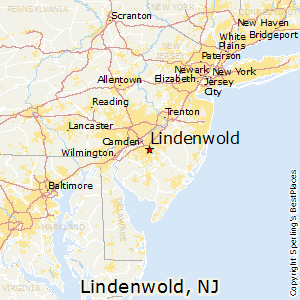 Lindenwold,New Jersey Map