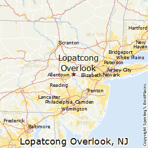 Lopatcong_Overlook,New Jersey Map
