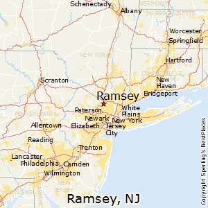 Ramsey,New Jersey Map