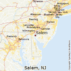 Salem New York Map.Best Places To Live In Salem New Jersey