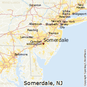 Somerdale,New Jersey Map