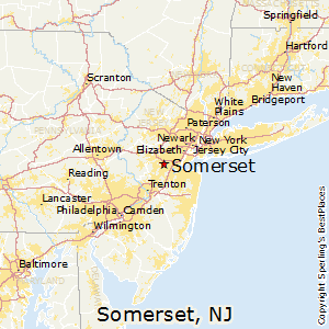 Somerset Nj Map Best Places to Live in Somerset, New Jersey Somerset Nj Map