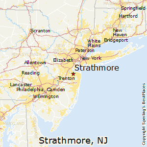 Strathmore,New Jersey Map