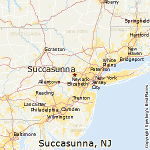 Succasunna,New Jersey Map