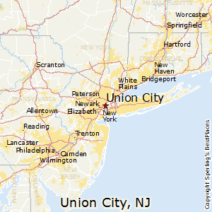 Union_City,New Jersey Map