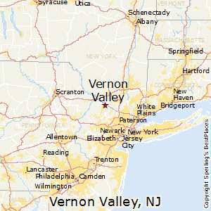 Vernon_Valley,New Jersey Map