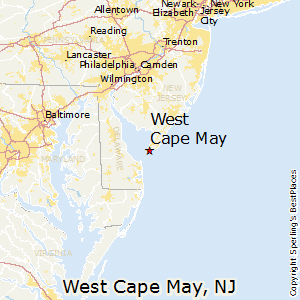 West_Cape_May,New Jersey Map