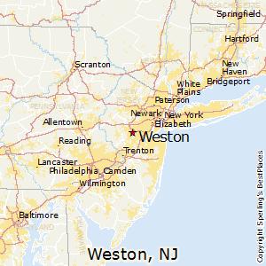 Weston Florida Map.Comparison Weston New Jersey Weston Florida