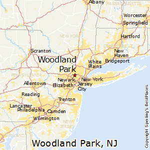Woodland_Park,New Jersey Map