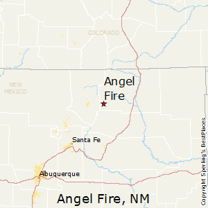 Angel_Fire,New Mexico Map