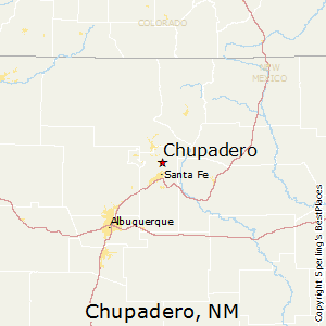 Chupadero,New Mexico Map
