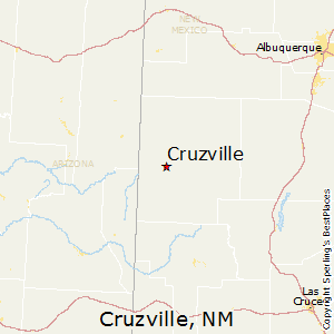 Cruzville,New Mexico Map